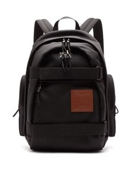 Burberry Cooper Tb Patch Backpack Black