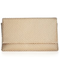 Styleandco. Style And Co. Prudence Clutch Light Gold