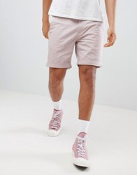 Tommy Jeans Freddy Straight Fit Chino Shorts In Pink Violet Ice