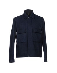 Paul Smith Ps By Denim Outerwear Blue