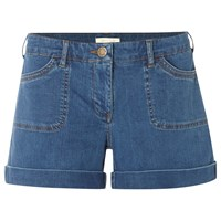 White Stuff Wilma Denim Shorts Mid Blue
