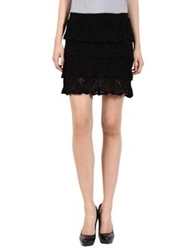 Miss Sixty Mini Skirts Black