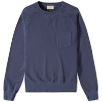 Nudie Jeans Nudie Samuel Pocket Sweat Blue