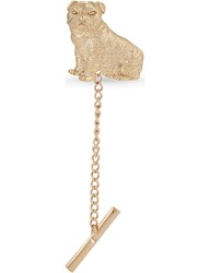 Eton Dog Tie Pin Gold