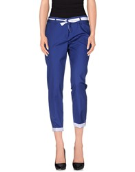 Aquilano Rimondi Aquilano Rimondi Trousers Casual Trousers Women Blue
