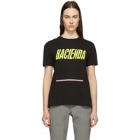 6397 Black 'Hacienda' Boy T Shirt