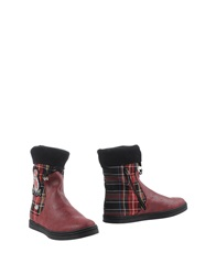 Botticelli Sport Limited Botticelli Limited Ankle Boots Garnet