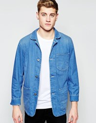 Lee Blazer Jacket Blue
