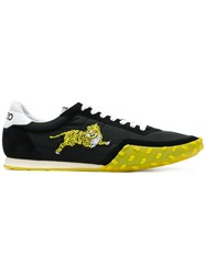 Kenzo Embroidered Tiger Sneakers Black