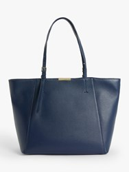 Coccinelle Cher Leather Tote Bag Ink