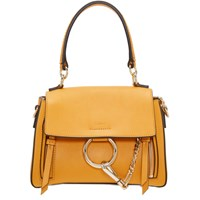 Chloe Yellow Mini Faye Day Bag