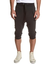 2Xist Camo Print Cargo Cropped Pants Black