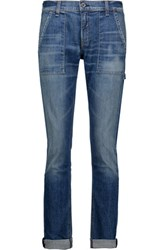 Rag And Bone Carpenter Dre Mid Rise Skinny Jeans Mid Denim