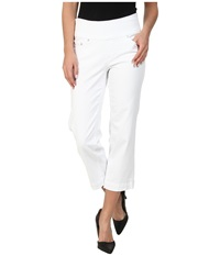 Jag Jeans Caley Classic Fit Crop Heritage Twill White Women's Jeans