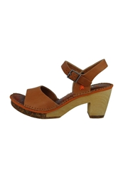 Art Amsterdam Platform Sandals Cuero Brown