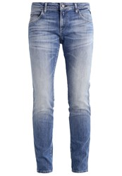 Replay Katewin Straight Leg Jeans Blue Denim