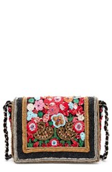 Sole Society Lavon Crossbody Bag Blue Multi