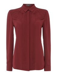 Pied A Terre Pleated Shirt Port