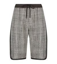 Public School Nyc Jacquard Shorts Male Grey
