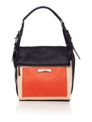 Kenneth Cole Hudson Hobo Handbag Orange