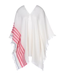 George J. Love Coats And Jackets Capes And Ponchos Fuchsia