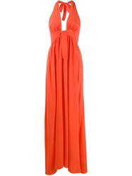 Fisico Sleeveless Halterneck Maxi Dress 60