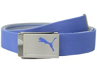 Puma Golf Reversible Web Belt Quarry Marina Belts Blue