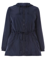 Evans Navy Blue Rain Mac