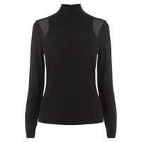 Karen Millen Turtle Neck Knit Black