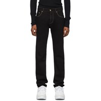 Versace Jeans Couture Black Slim Fit Jeans