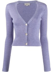 Fiorucci Long Sleeve Fitted Cardigan 60