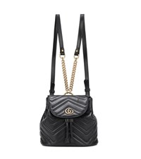 Gucci Matelasse Leather Backpack Black