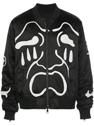 Haculla Scream Embroidered Bomber Jacket 60