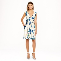 J.Crew Collection Cove Floral Dress