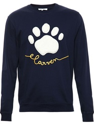 Carven Fur Paw Sweatshirt