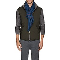 Loro Piana Four In Hand Cashmere Scarf Lt. Blue