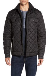 The North Face Men's Faux Shearling Lined Quilted Jacket Tnf Black