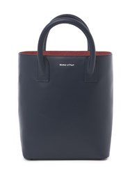 Mother Of Pearl Hoxton Mini Tote Blue