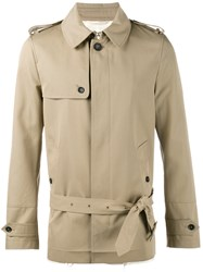 Valentino Short Trench Coat Nude Neutrals