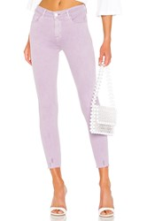 Sanctuary Social Standard Ankle Skinny Jean Charming Lilac