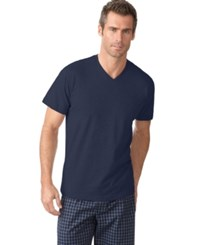 Alfani Men's V Neck T Shirt Only At Macy's Navy