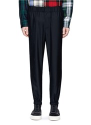 Alexander Wang Abstract Jacquard Pants Black