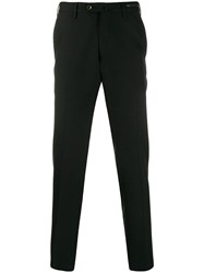 Pt01 Tapered Tailored Trousers Black