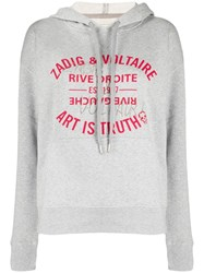 Zadig And Voltaire Art Is Truth Print Hoodie 60