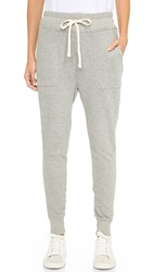 James Perse Slouchy Sweatpants Heather Grey