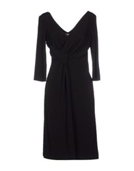 Nina Knee Length Dresses Black