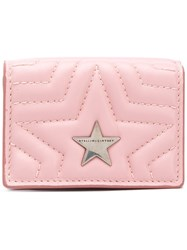 Stella Mccartney Star Flap Wallet Pink And Purple