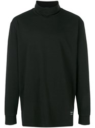 Tom Wood Loose Rollneck Sweater Black