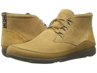 Chaco Montrose Chukka Bone Brown Men's Lace Up Boots Yellow