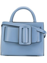 Boyy 'Bobby' Crossbody Bag Women Leather One Size Blue